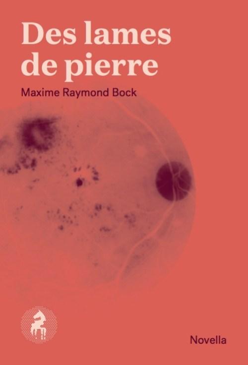 Maxime Raymond Bock, Des lames de pierre, 2015, couverture