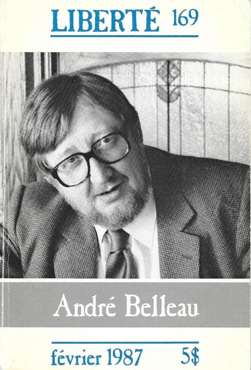 Liberté, 169, février 1987, couverture