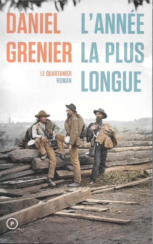 Daniel Grenier, l'Année la plus longue, 2015, couverture