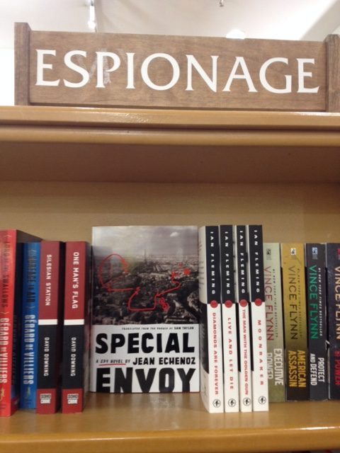 Envoyée spéciale au rayon Espionnage de McNally Jackson Books, New York, janvier 2018