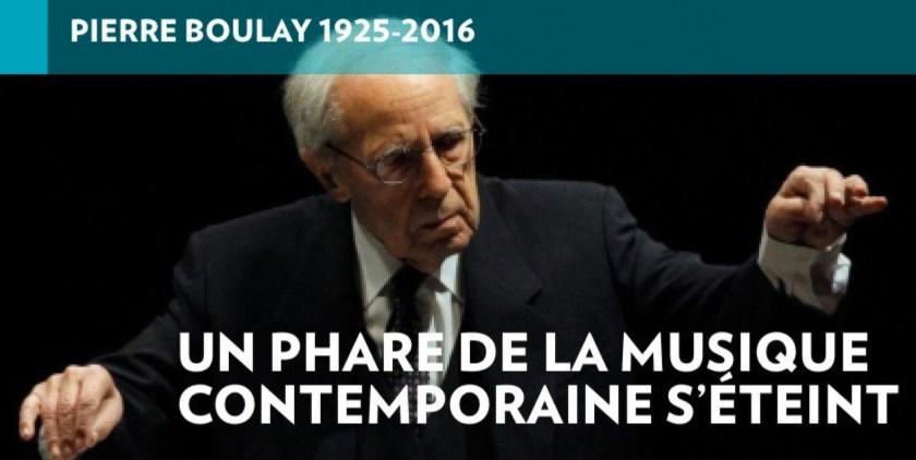 «Boulay» pour «Boulez», la Presse+, 7 janvier 2015