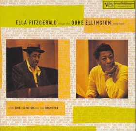 Ella Fitgerald Sings the Duke Ellington Song Book, Verve, 1957, pochette