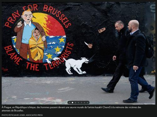 Photo prise à Prague, la Presse+, 25 mars 2016