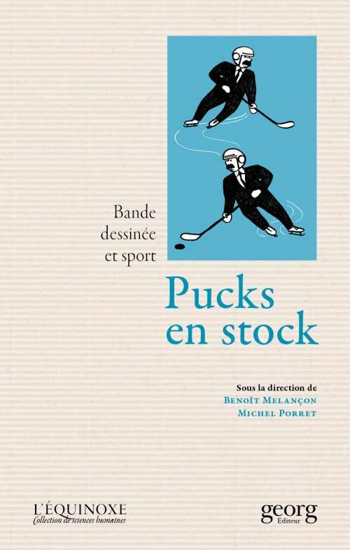 Pucks en stock, 2016, couverture