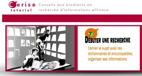 «Débuter une recherche», dit la Sorbonne