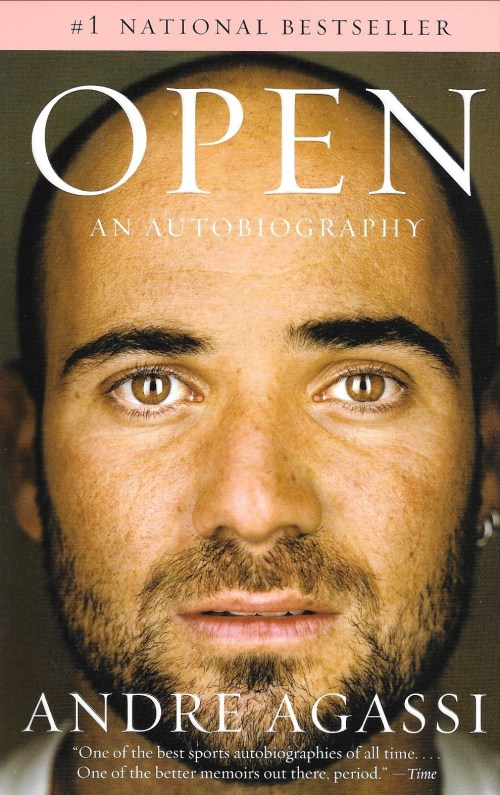 Andre Agassi, Open, 2010, couverture