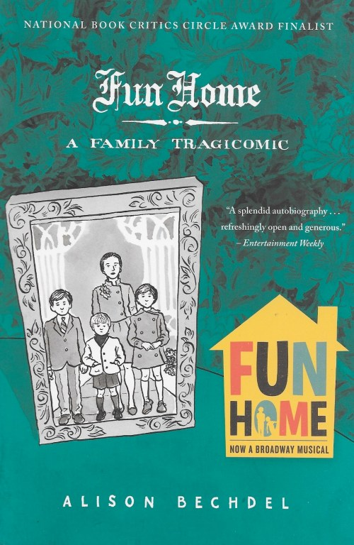Alison Bechdel, Fun Home, 2006, couverture