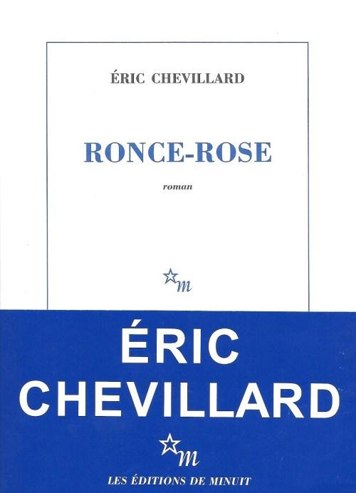 Éric Chevillard, Ronce-Rose, 2017, couverture