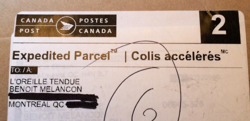 Le courrier de l'Oreille tendue
