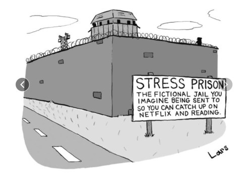 «Stress Prison», The New Yorker, 13 mars 2017