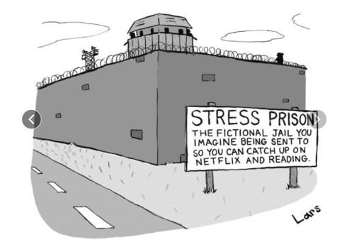 «Stress Prison», The New Yorker, 13 mars 2017