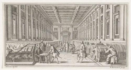Biblioteca Laurenziana, par Francesco Bartolozzi