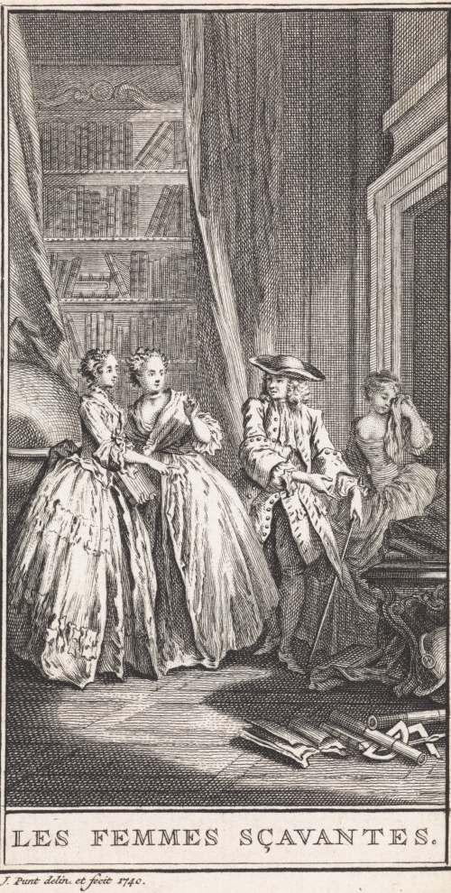 Molière, les Femmes savantes, édition de 1750