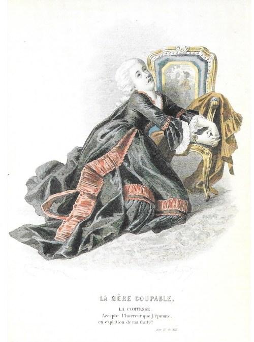 La Mère coupable, créée le 26 juin 1792 au Théâtre du Marais, acte IV, sc. XIII, édition de 1876