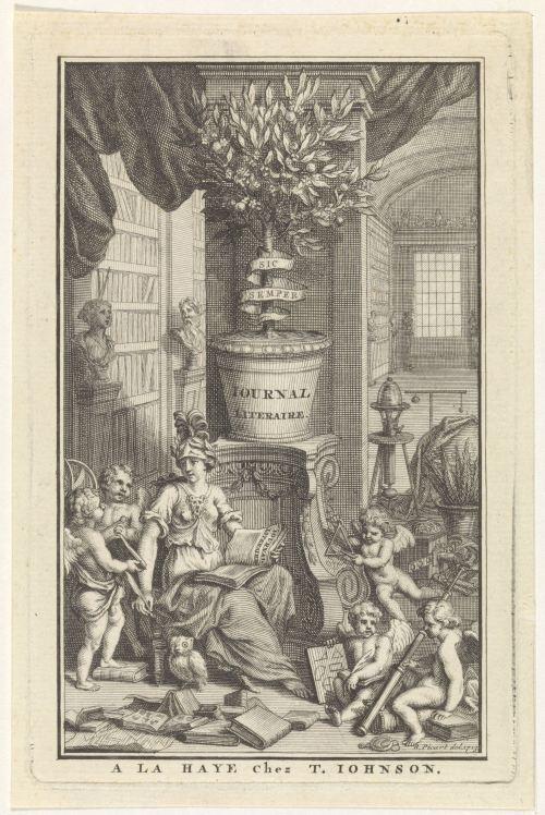 Page de titre du Journal litéraire, 1713
