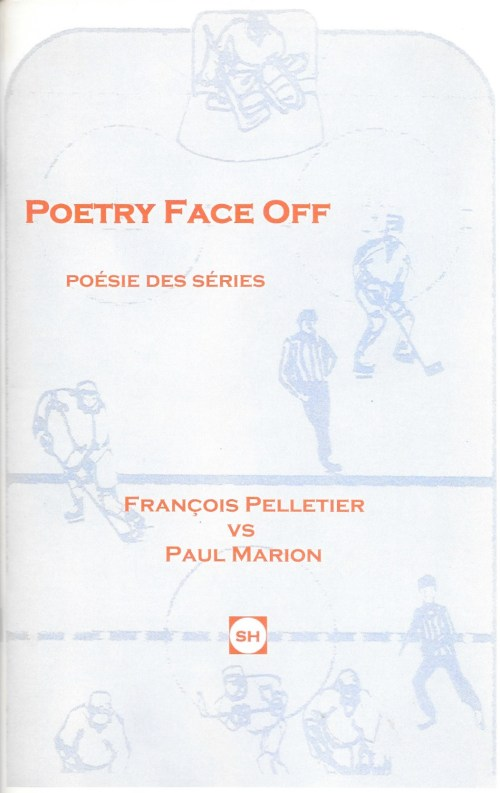 François Pelletier et Paul Marion, Poetry Face Off. Poésie des séries, 2008, couverture