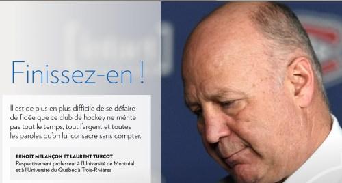 La Presse+, 1er avril 2018, titre
