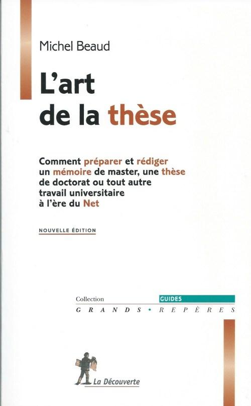 Michel Beau, l'Art de la thèse, éd. de 2006, couverture