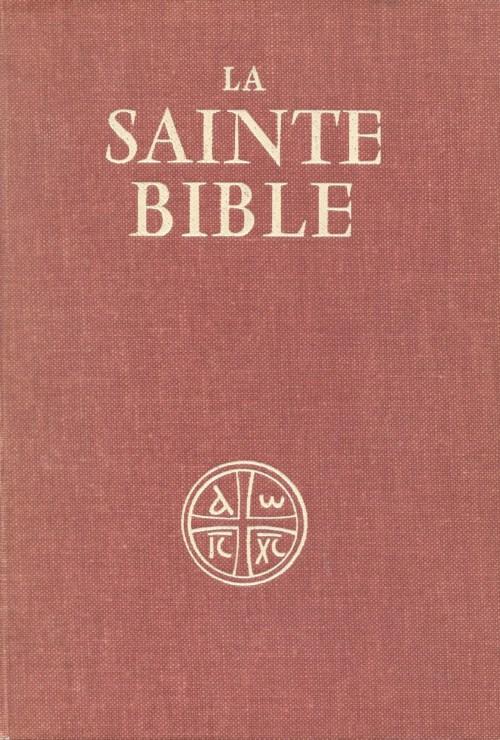 La Sainte Bible traduite en français sous la direction de l'École biblique de Jérusalem, 1961, couverture
