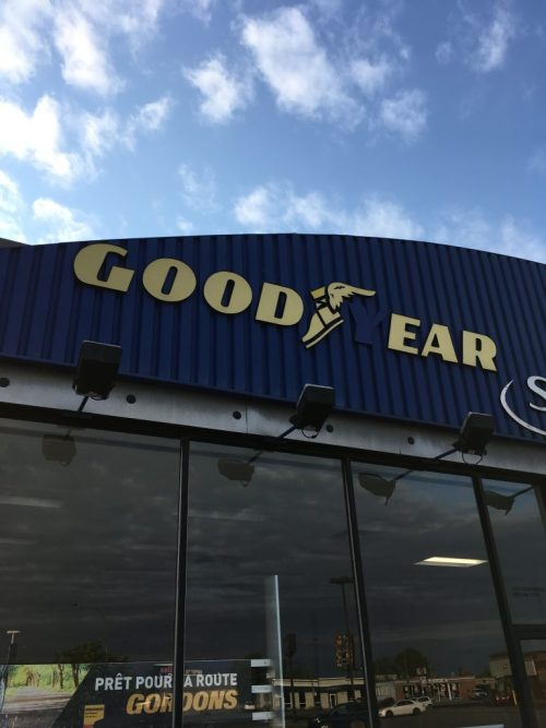Panneau «Good Ear», Montréal, juin 2018
