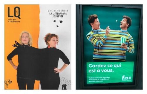 Couverture de Lettres québécoises et publicité dans le métro de Montréal