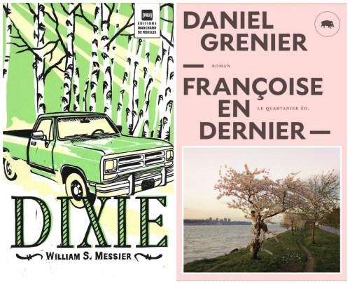 Couvertures de William S. Messier et Daniel Grenier, montage