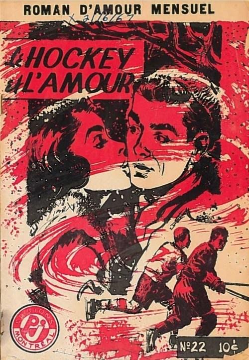 Thérèse Loslier, le Hockey et l'amour, s.d., couverture