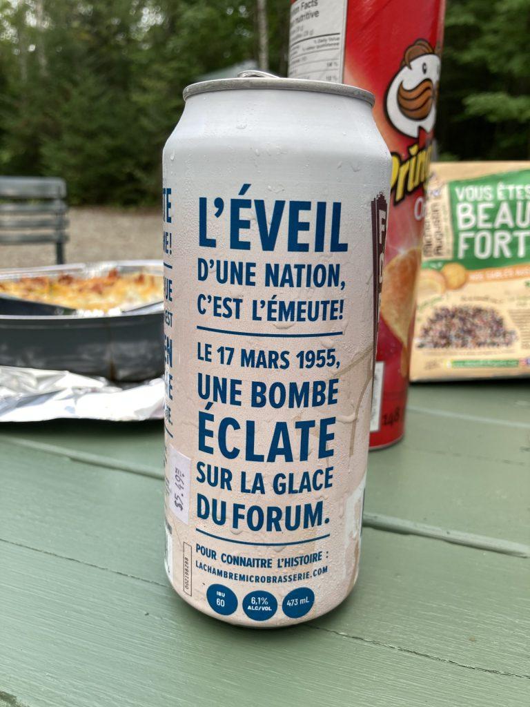Bière L'Émeute (Maurice Richard)