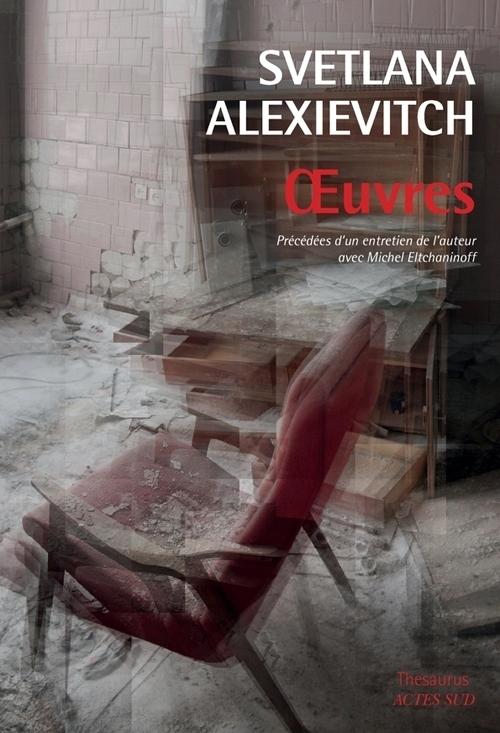 Svetlana Alexievitch, La guerre n'a pas un visage de femmes, éd. de 2015, couverture