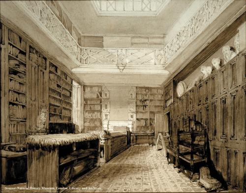 Bibliothèque de Joseph Banks à Soho Square