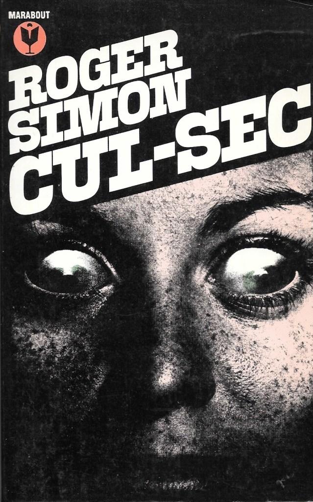 Roger Simon, Cul-sec, 1981, couverture
