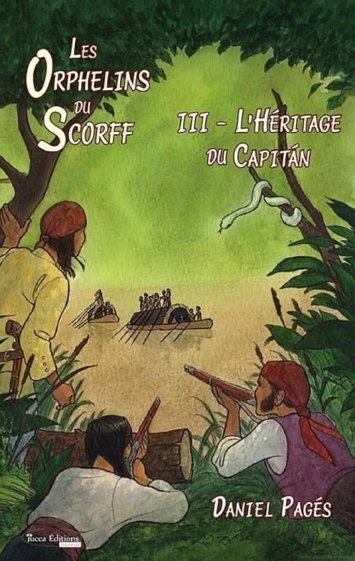 Daniel Pagés, les Orphelins du Scorff, 2017, couverture