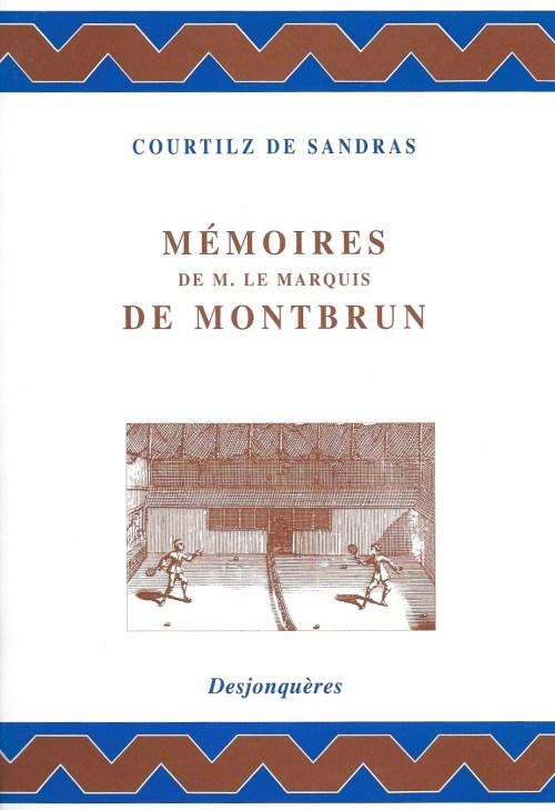 Courtilz de Sandras, Mémoires de M. le marquis de Montbrun, éd. de 2004, couverture