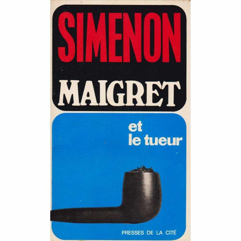 Georges Simenon, Maigret et le tueur, 1969, couverture