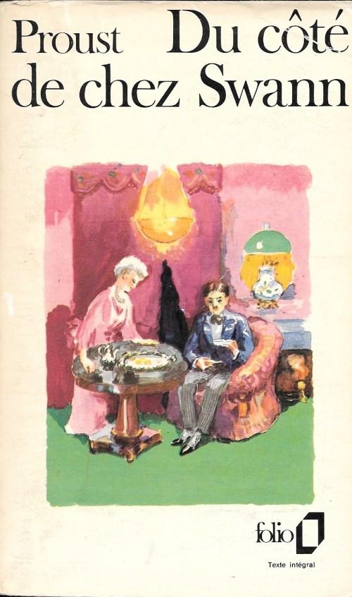 Marcel Proust, Du côté de chez Swann, éd. de 1976, couverture