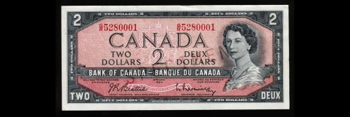 Billet de deux dollars canadiens