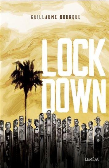 Guillaume Bourque, Lockdown, 2019, couverture