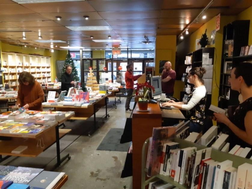 Fermeture de la librairie Olivieri