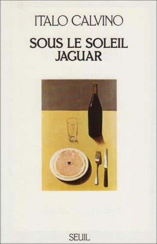 Italo Calvino, Sous le soleil jaguar, couverture