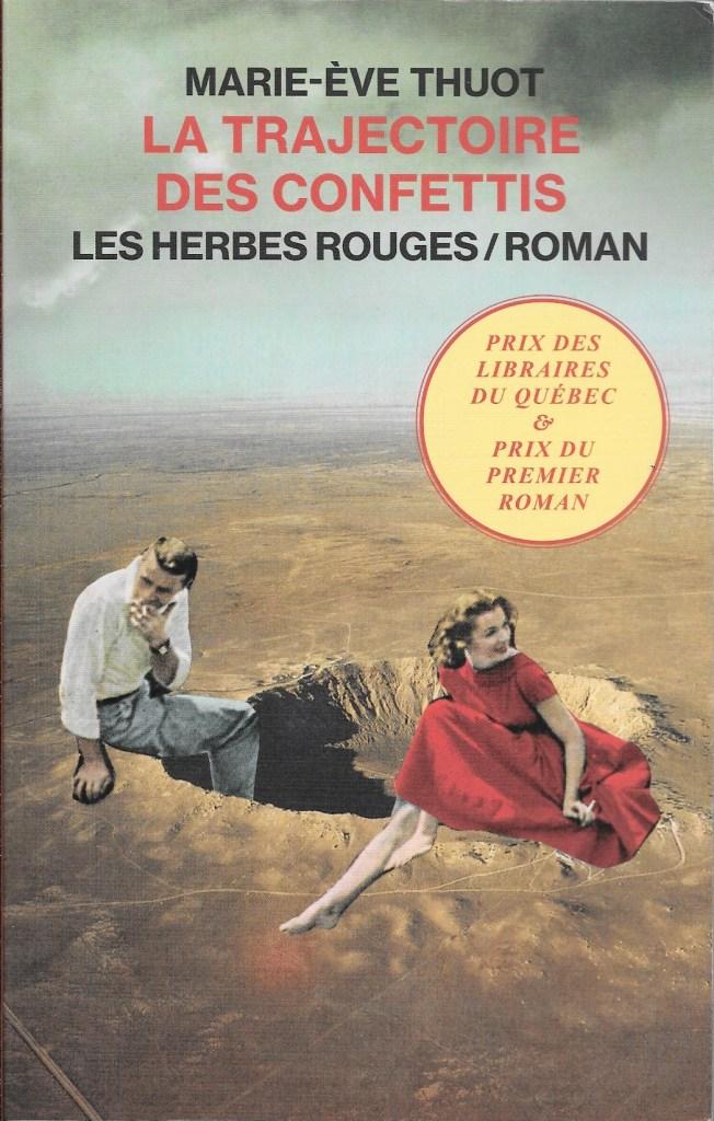 Marie-Ève Thuot, la Trajectoire des confettis, 2019, couverture
