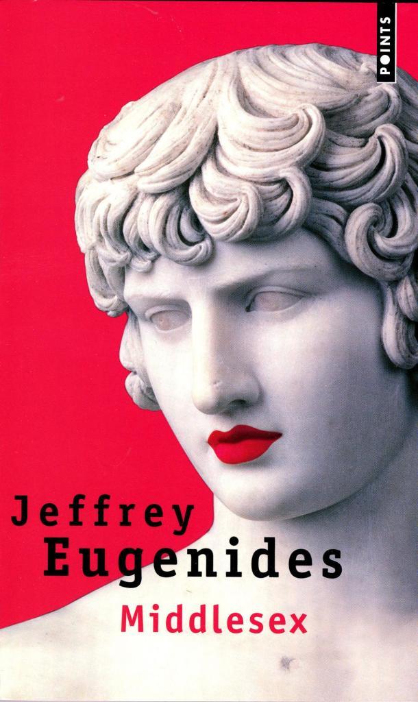 Jeffrey Eugenides, Middlesex, éd. de 2004, couverture
