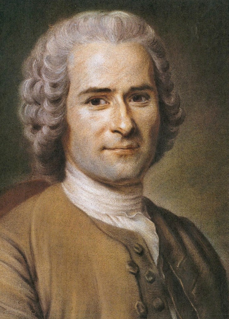 Portrait de Jean-Jacques Rousseau