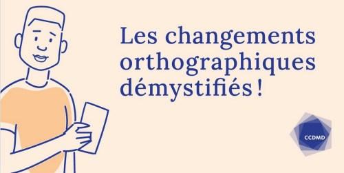 Les Changements orthographiques démystifiés, logo, 2021
