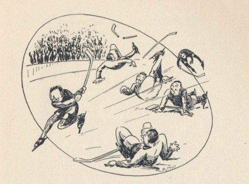 Dessin de Guy Rutter pour Paul Marchand, and Other Poems, 1933