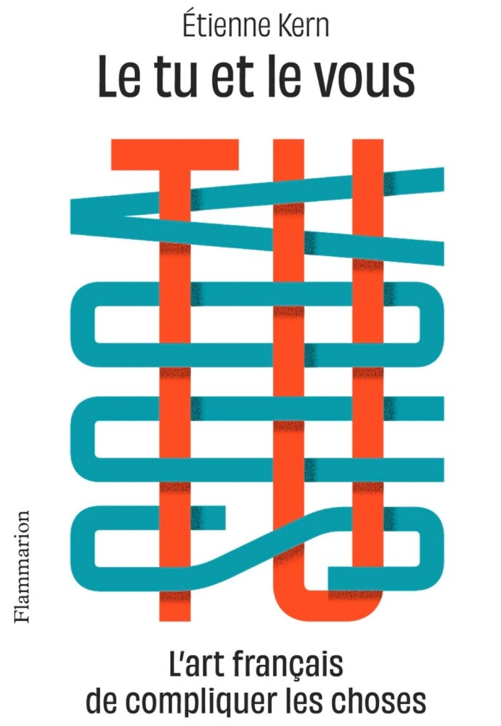 Étienne Kern, le Tu et le vous, 2020, couverture