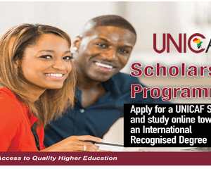 UNICAF MASTER DEGREE SCHOLARSHIP NOW AVAILABLE WITH UPTO 80% OFF. APPLY NOW
