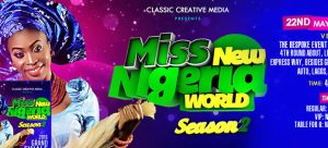 Miss New Nigeria World 2016 Contestants