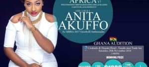 Anita Akuffo unveiled as Ambassador for Miss black beauty Africa