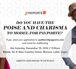 Payporte Modelling Auditions oreime.com