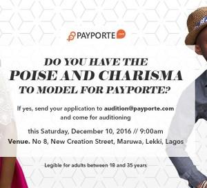 Payporte Modelling Auditions oreime.com